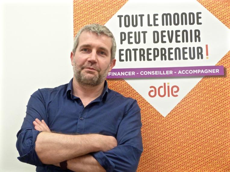 Sébastien Chaze, directeur de l'ADIE pour Marseille-région Sud©MOH