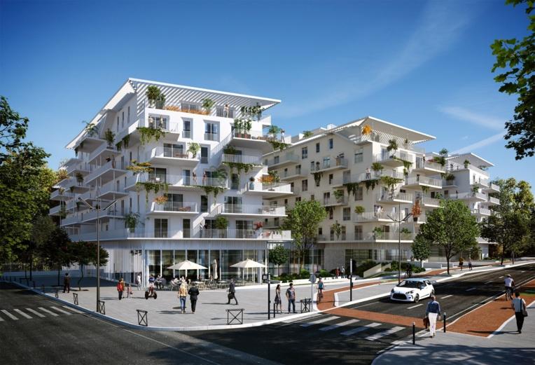 Coffim et Vinci réalisent un programme de 349 logements près de l'hôpital Salvator