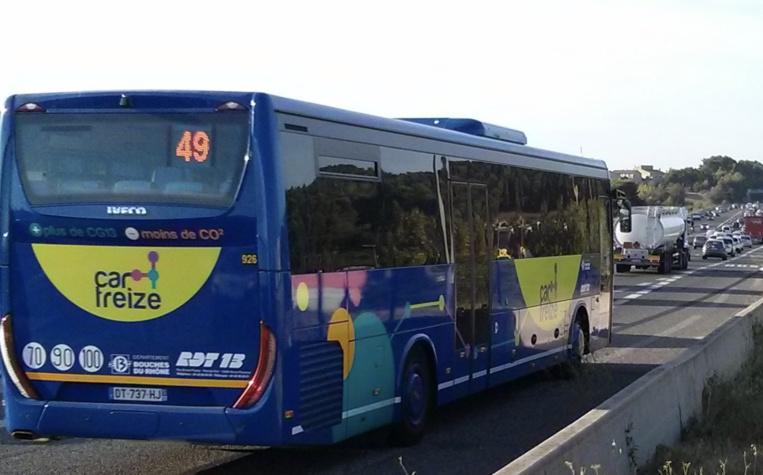 Le réseau de voies dédiées aux bus sur autoroutes va s'étendre © Cerema