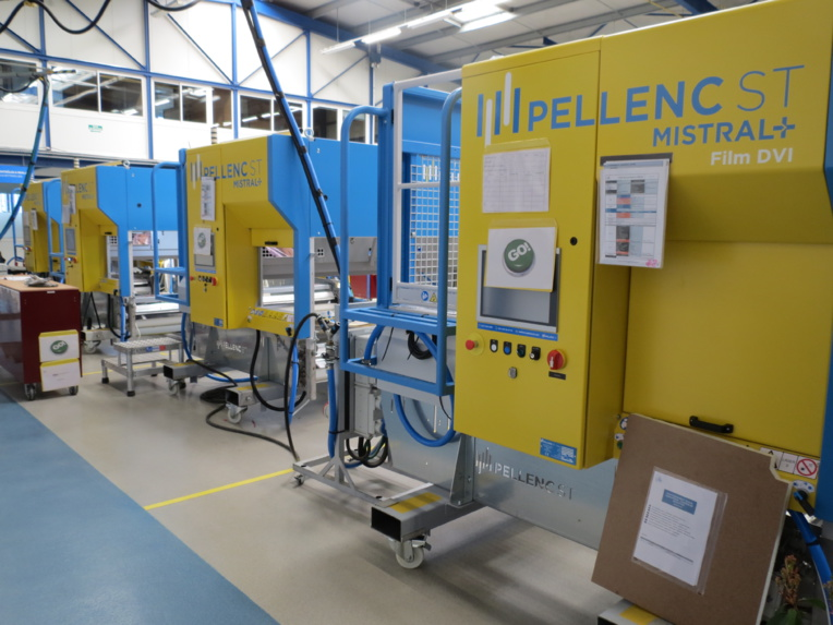Les machines Mistral + ont été dotées d'une nouvelle architecture électronique et logicielle, « CNS » (Central Nervous System), pour intégrer plus facilement de nouvelles technologies. (Photo JC Barla)