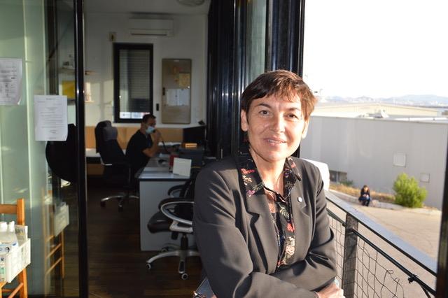 Annick Girardin, ministre de la mer a visité la station de la coopérative de lamanage à Marseille, le 13 novembre. ©NBC