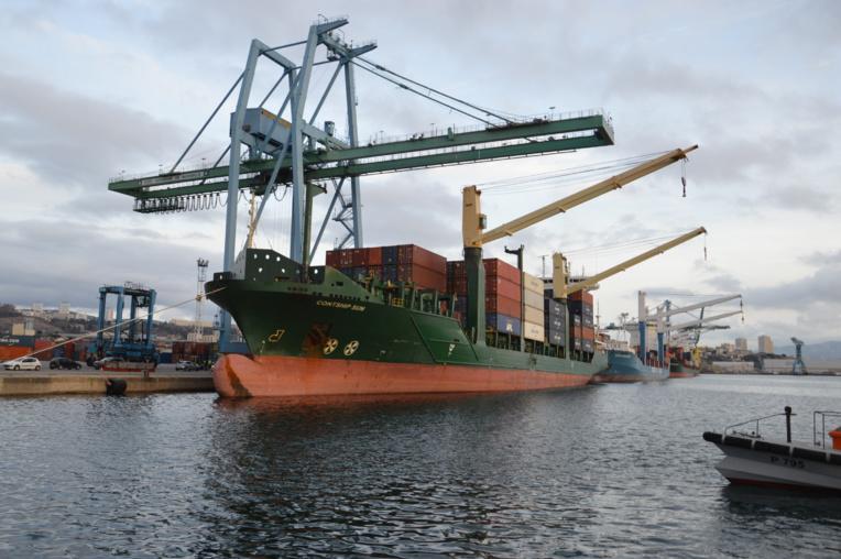 Sur le terminal de Mourepiane, le port et CMA CGM prévoit de nouveaux investissements dans la manutention et la création d'un terminal ferroviaire. ©NBC