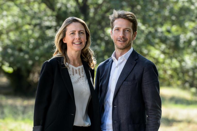 Chloé Tourret et son frère Aurélien, respectivement directrice générale déléguée et directeur général de Proclair