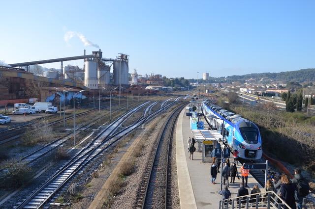 Après les 10 premiers trains mis en service en 2016, la Région investit encore 40 M€ dans l'achat de cinq nouveaux trains. Photo NBC