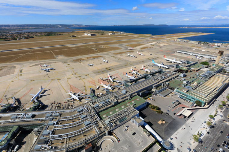 2020 annus horribilis pour l'aéroport Marseille-Provence © Camille Moirenc