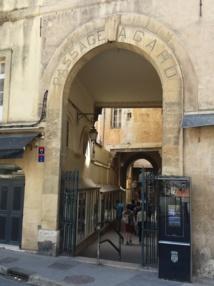 Le groupe Sebban vient d'acheter 12 immeubles du passage Agard dans le centre d'Aix © DR