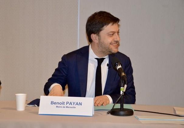 Benoît Payan, maire de Marseille. ©NBC