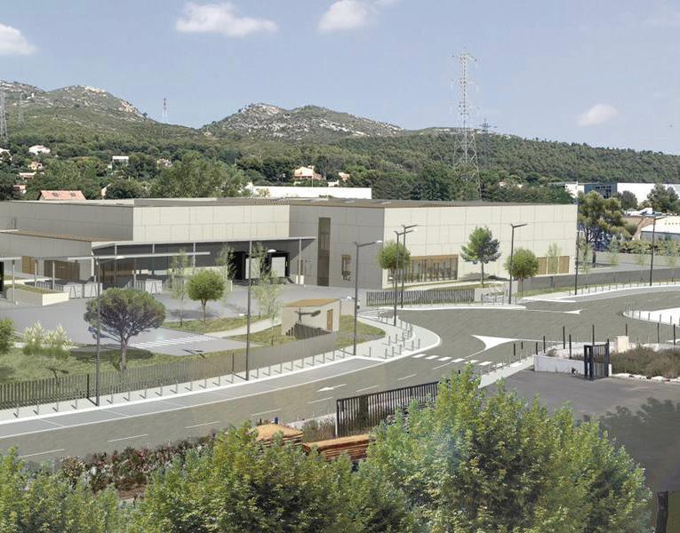 La nouvelle usine de TechnicoFlor à Allauch©DR