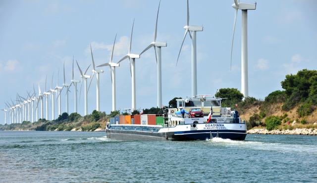 À l'horizon 2030, le volume de fret transporté sur le fleuve pourrait augmenter de moitié. © GPMM