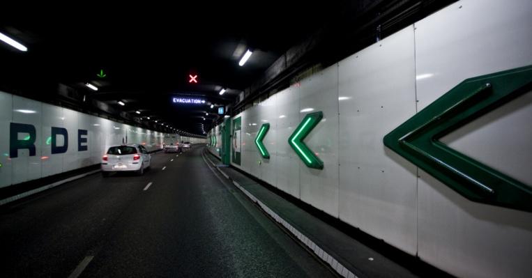 Le tunnel Prado Carénage a vu sa fréquentation chuter de 21% en 2020 © DR