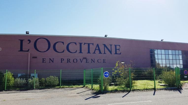 L'Occitane à Manosque contribue à faire des Alpes-de-Haute-Provence le département le plus industrialisé de la région (photo : F.Dubessy)
