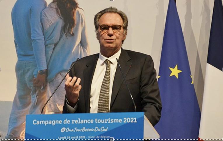 Renaud Muselier soutient le secteur du tourisme qui représente 13% du PIB de sa région (photo : F.Dubessy)