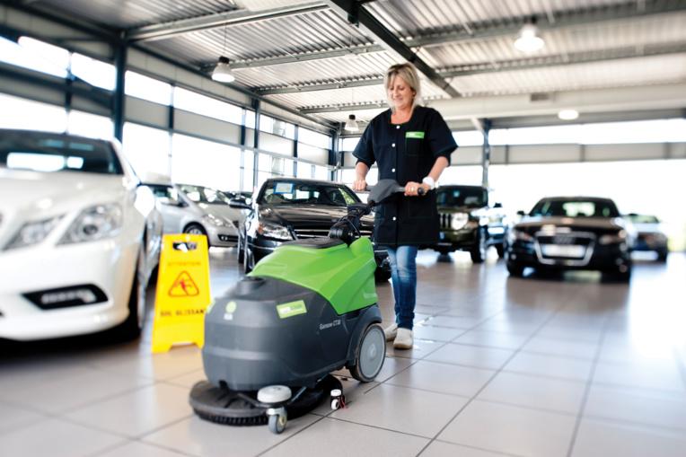 Les parkings, un nettoyage qui implique des compétences particulières