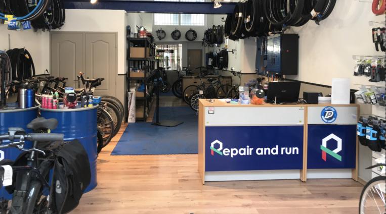 La boutique-atelier Repair and Run, rue de la République. Photo©DR