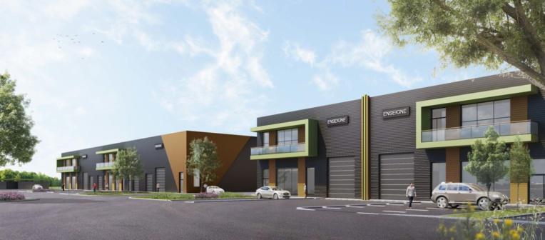 Une vue du futur Rognac Business Parc  © StoneHedge