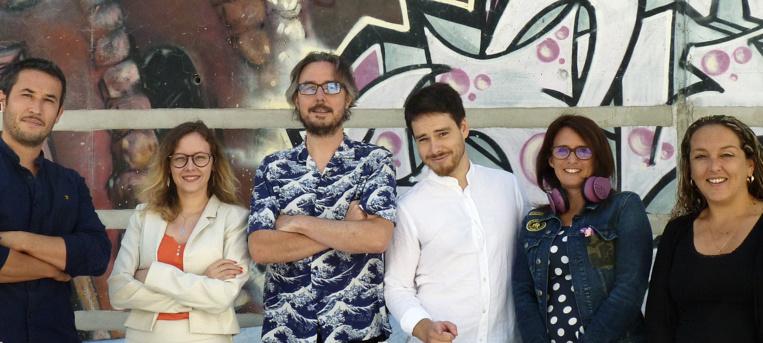 L'équipe de l'incubateur multimédia Belle de Mai ©DR