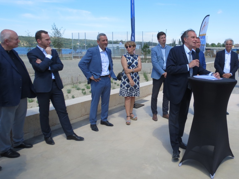 Renaud Muselier s'est dit prêt à accélérer le calendrier de la réouverture du tunnel du Rove à la courantologie (Photo JC Barla).