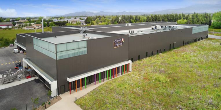 La nouvelle unité de production à Monteux (84)©DR