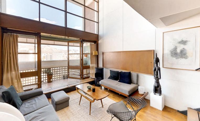 Un appartement de la Cité Radieuse à Marseille