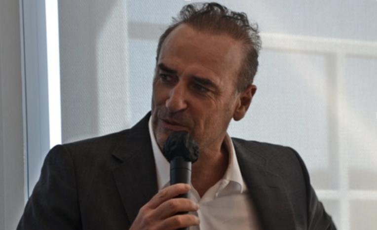 Jean-François Suhas, président du Club de la croisière Marseille-Provence, veut une croisière de qualité et plus respectueuse de l'environnement (photo : F.Dubessy)