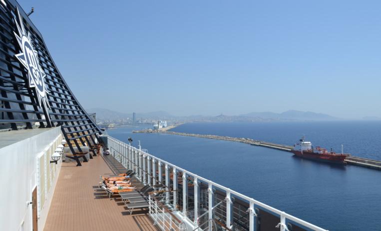 La croisière revient à Marseille (photo : F.Dubessy)