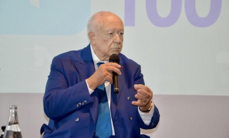 Jean-Claude Gaudin, invité du Club 100. ©NBC