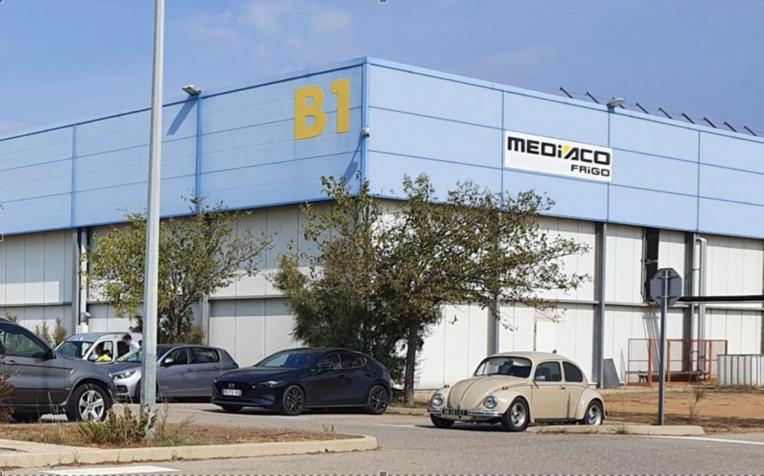 Mediaco s'apprête à faire construire 6 000 m2 d'entrepôts sous température dirigée. ©Mediaco Frigo