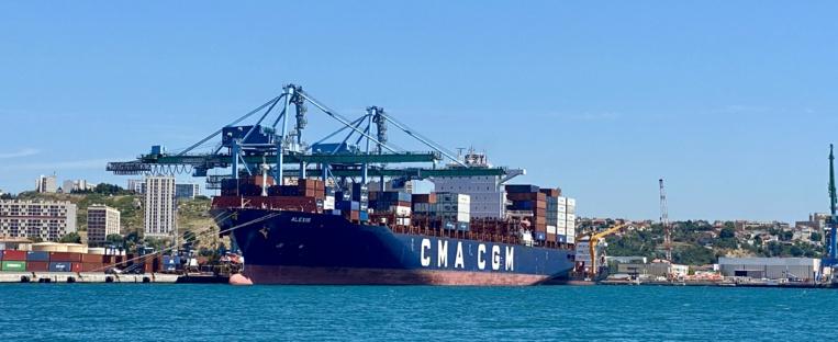 CMA CGM a augmenté la capacité de la flotte opérée de 11% depuis le 31 décembre 2019. ©NBC