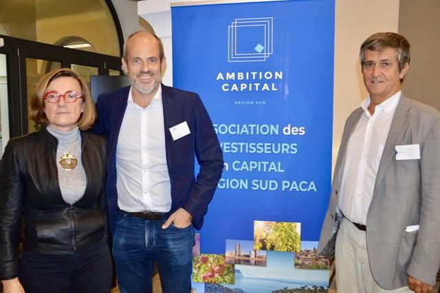 Marie Desportes, Alexandre Flageul et Franck Paoli. ©NBC