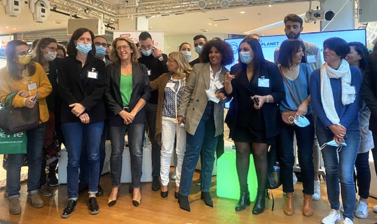 Le 6 eme Forum Elle Entreprend organisé par Positive Planet