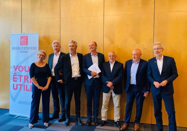 La Caisse d'Epargne Cepac présente ses résultats 2019