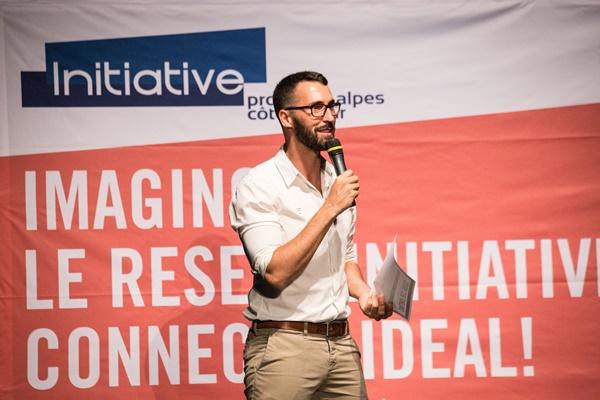 Thomas Deglaire, délégué régional d'Initiative Provence-Alpes-Côte d'Azur a pu soutenir près de 3 000 entreprises (photo : Initiative Provence-Alpes-Côte d'Azur)
