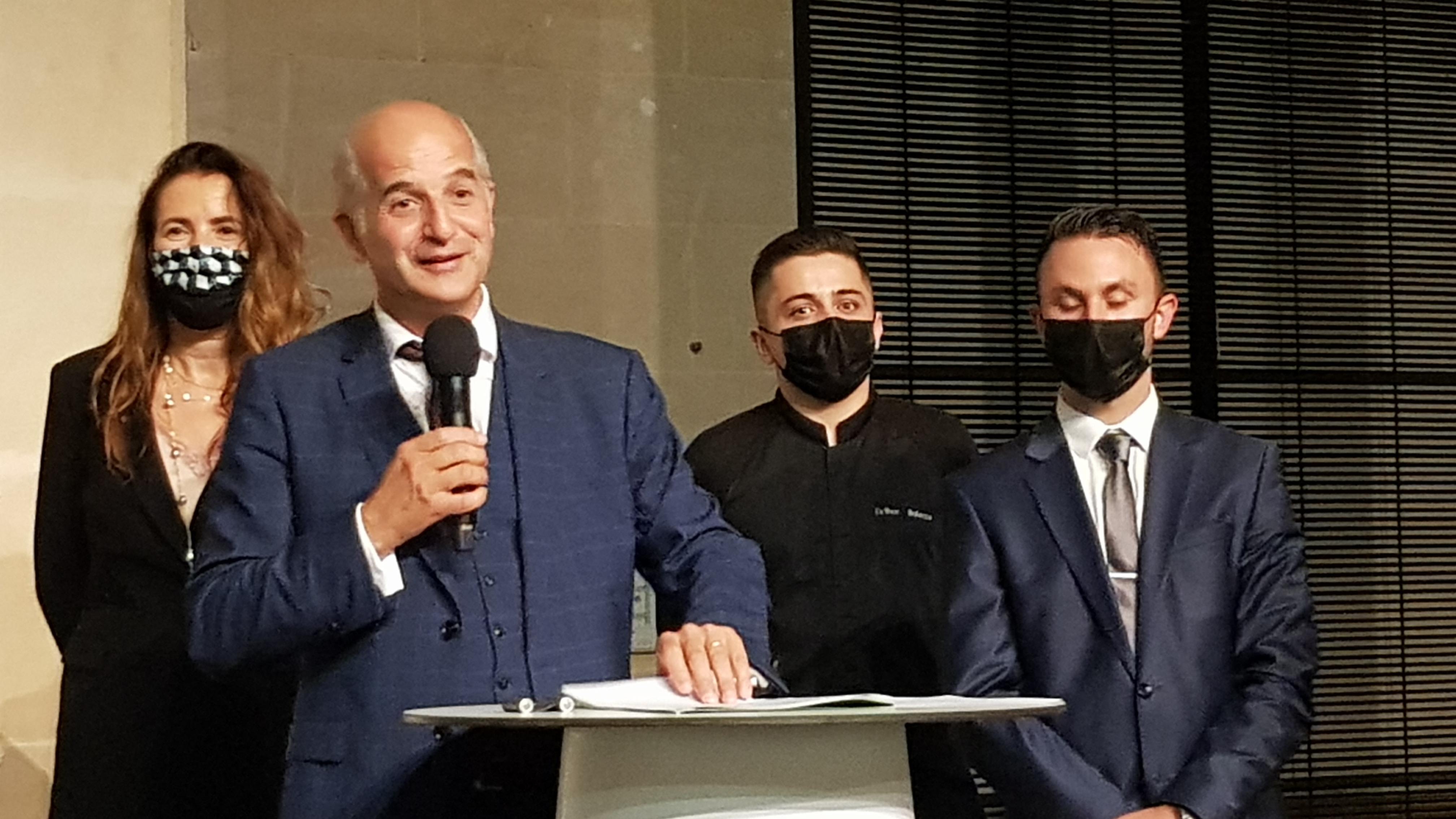 Jean-David Cohen et son équipe dispose d'une concession pour dix ans (photo : F.Dubessy)