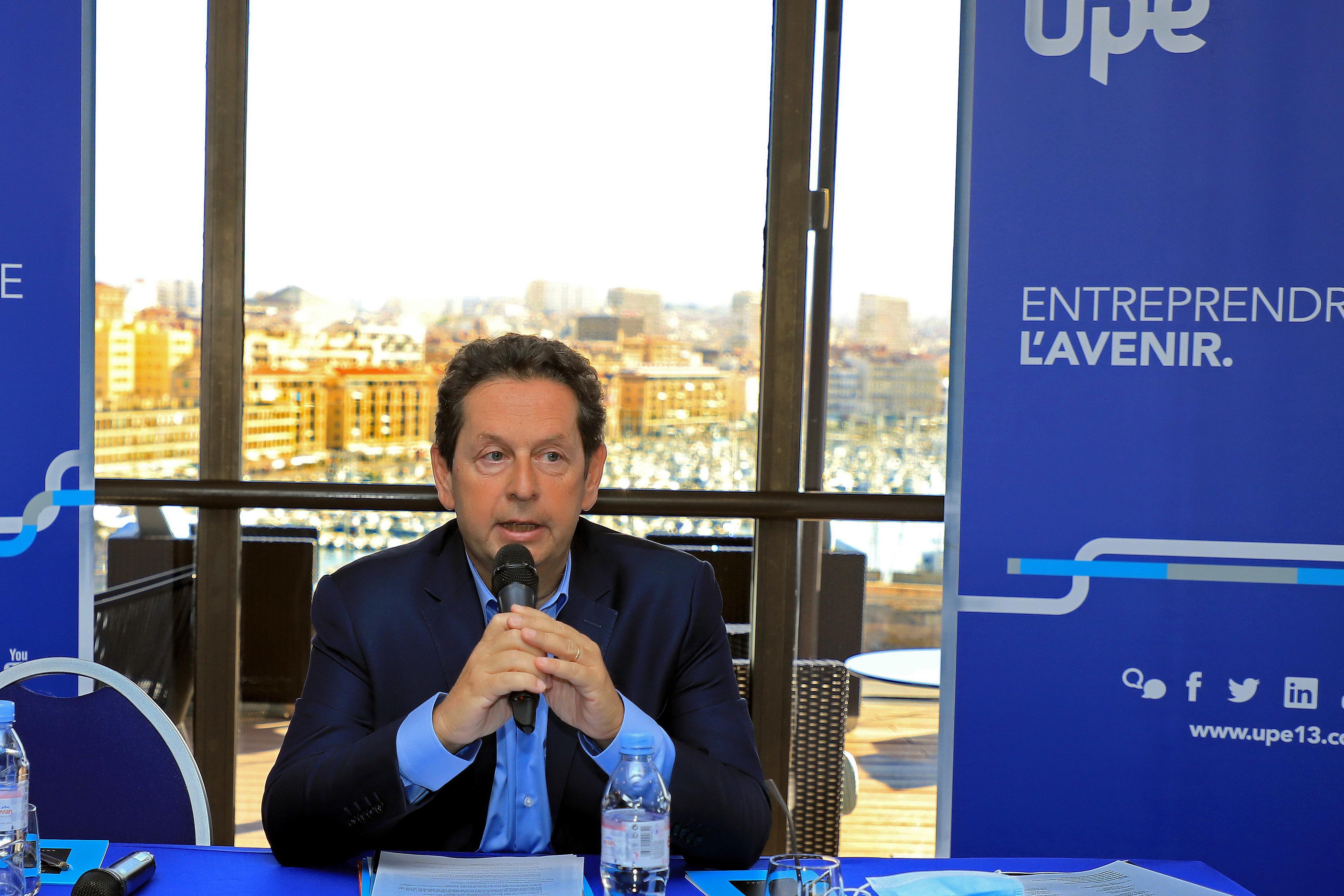 Philippe Korcia, président de l'Upe 13. ©Robert Poulain