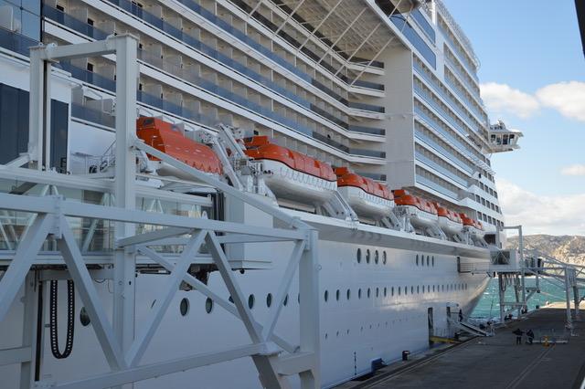 A compter de dimanche 8 novembre jusqu'au 18 décembre inclus, l'armateur suspend les rotations du MSC Magnifica. © NBC