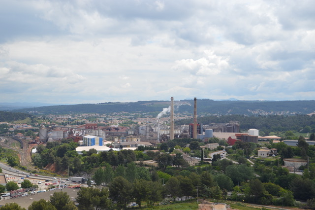 UMS devrait sans surprise reprendre l'unité de  production d'alumine Alteo à Gardanne. ©DR