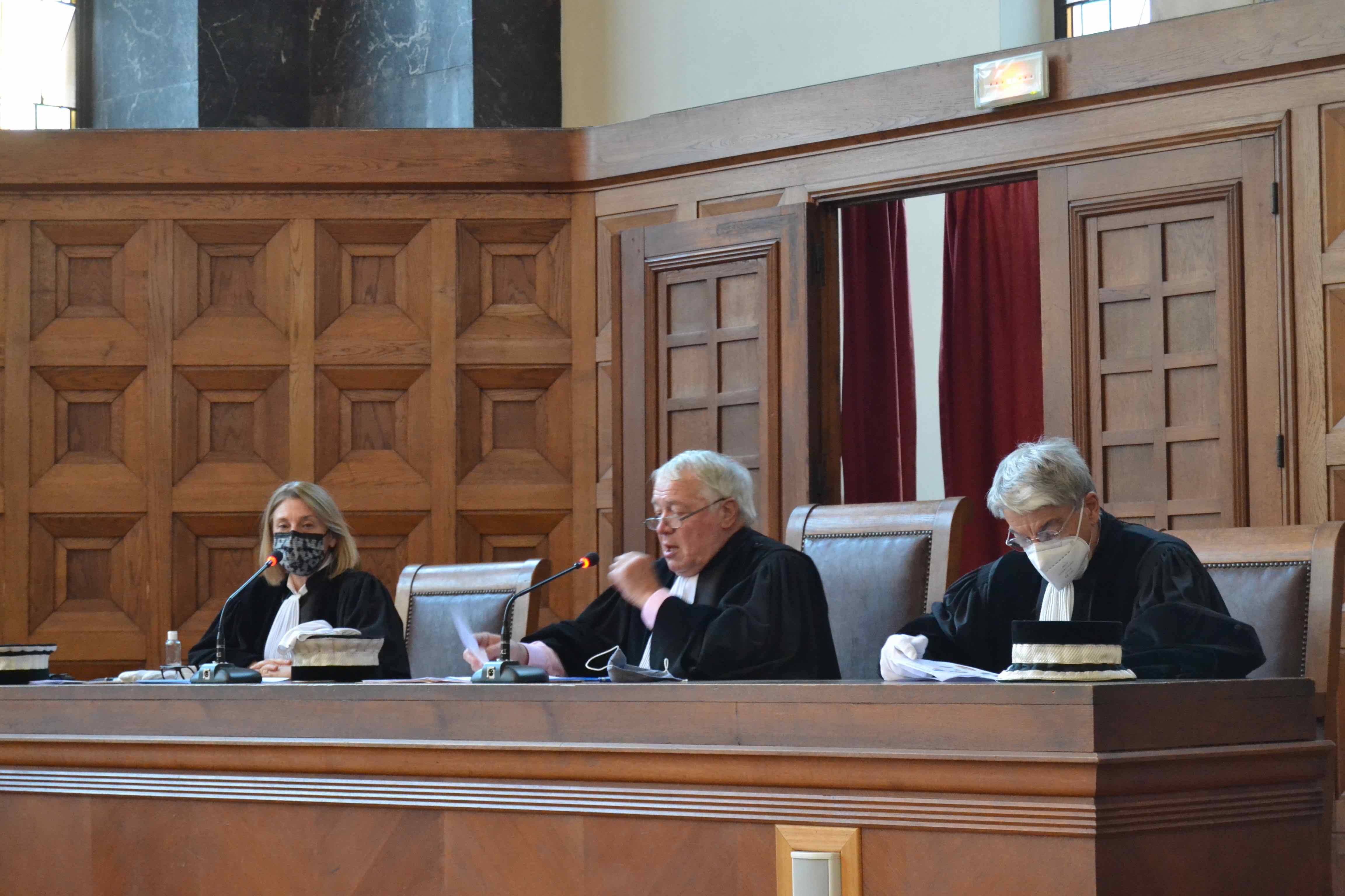 Véritable baromètre de l'activité des juges consulaires, la rentrée solennelle du tribunal de commerce de Marseille s'est tenue ce 14 janvier 2021 devant une assistance clairsemée en raison de la crise sanitaire. ©DR