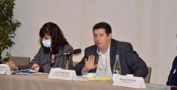 Joël Canicave, adjoint aux finances à la Ville de Marseille. ©NBC