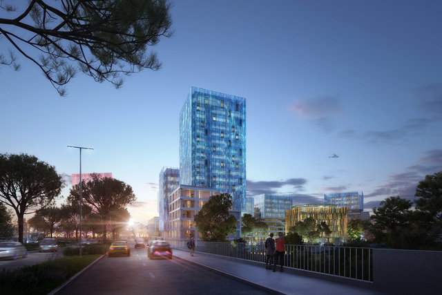 Theodora, futur hub digital d'innovation ©Carta Associés & AER Studio