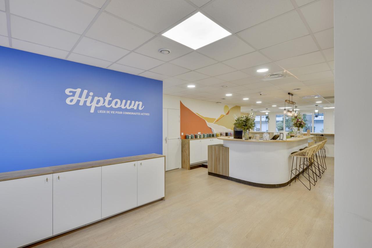 Hiptown met l'art du recyclage foncier au service des bureaux