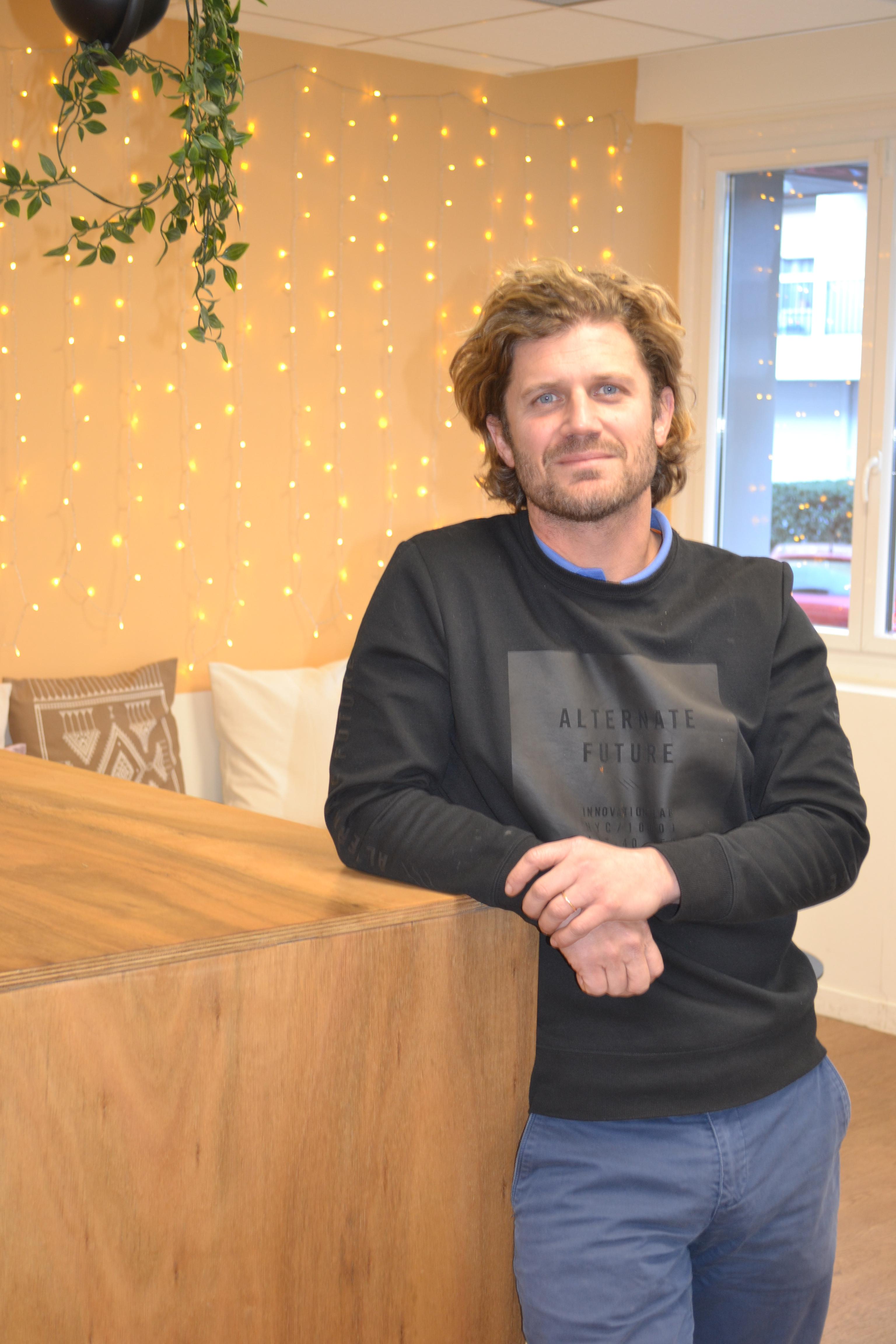 Matthieu Sorin, fondateur d'Hiptown © DR