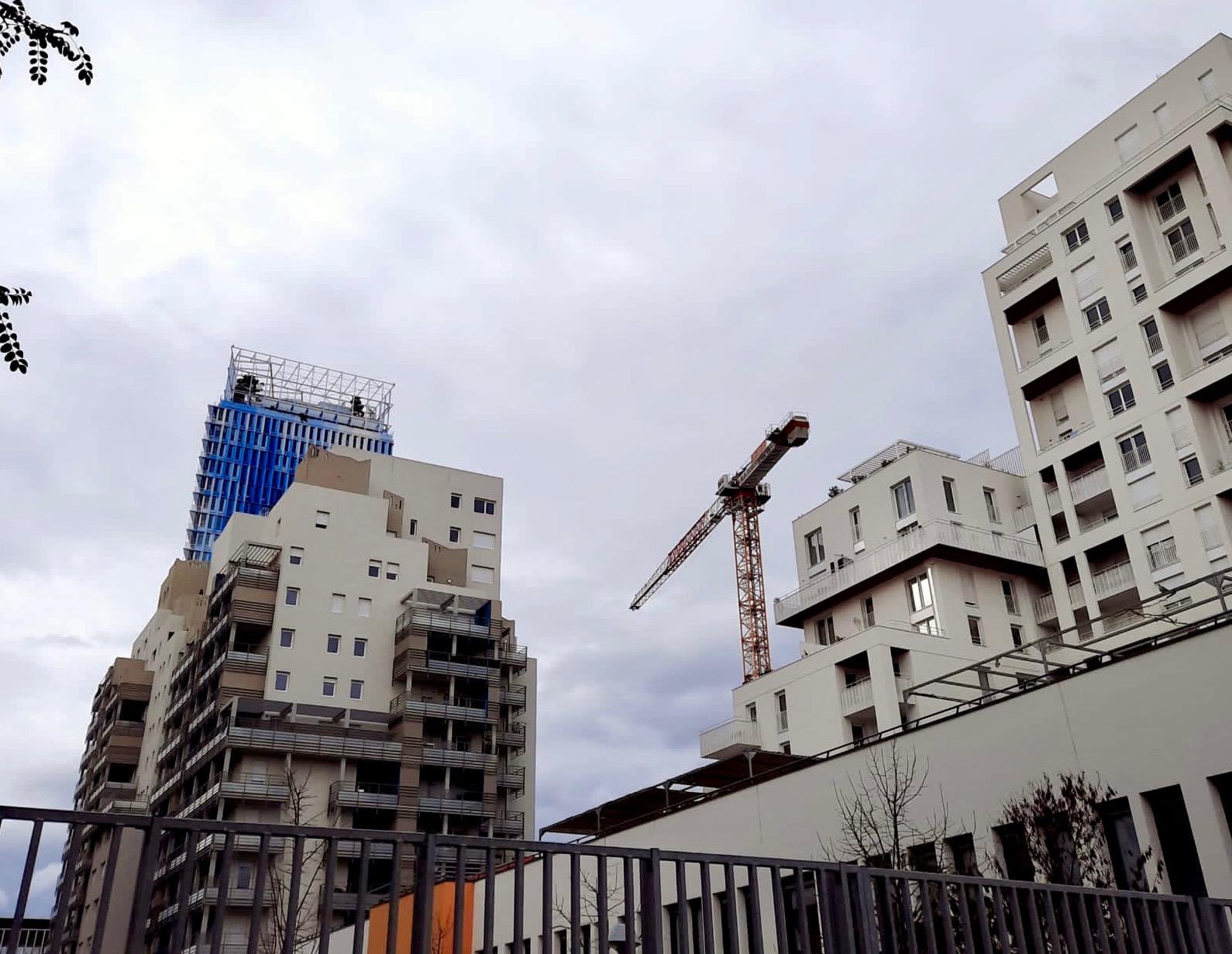 La construction de logements neufs est en souffrance © JP