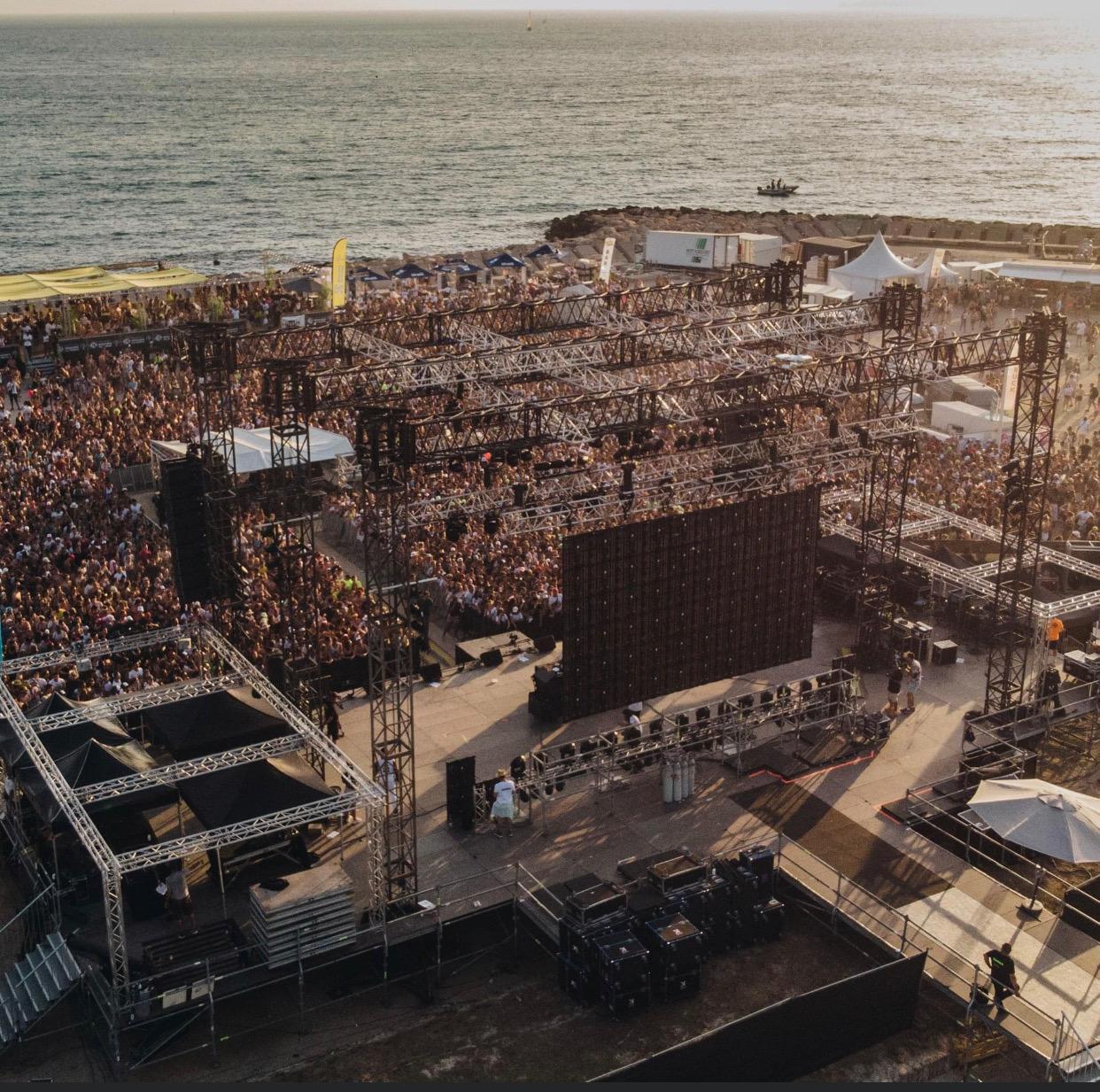 L'édition 2019 du Delta Festival avait rassemblé 40 000 jeunes en deux jours sur les plages du Prado©DR