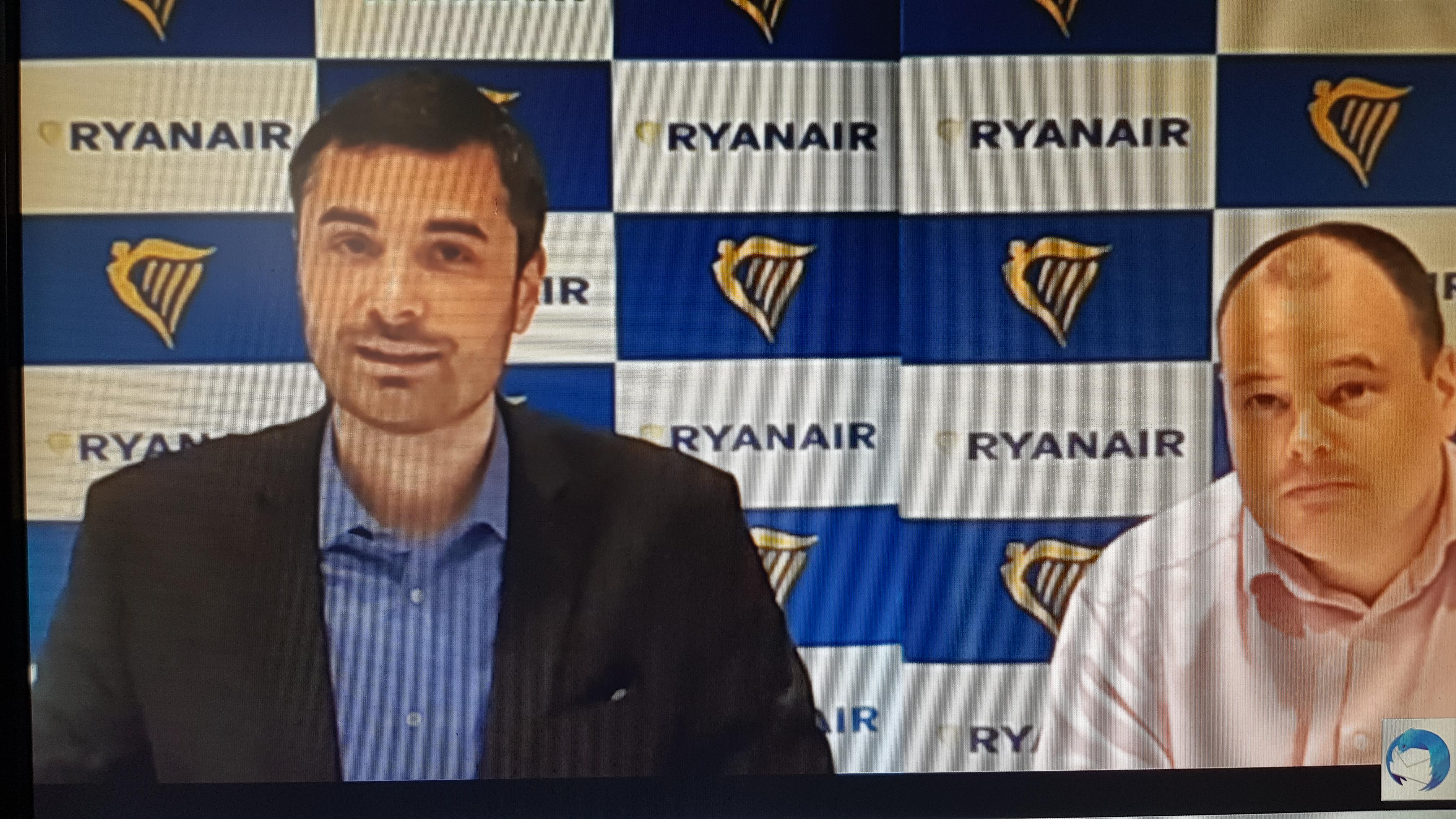 Julien Tranchant et Dara Brady renouvellent leur confiance dans l'aéroport Marseille Provence en ajoutant un nouvel avion (photo : F.Dubessy)