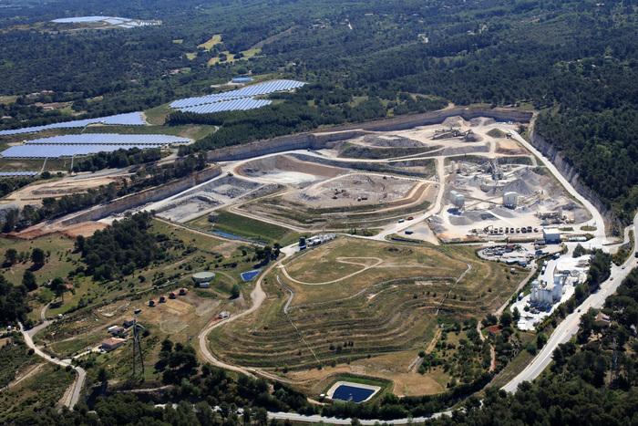 La décharge de la Malepsine site pilote pour la création d'une station de ravitaillement à l'hydrogène © DR