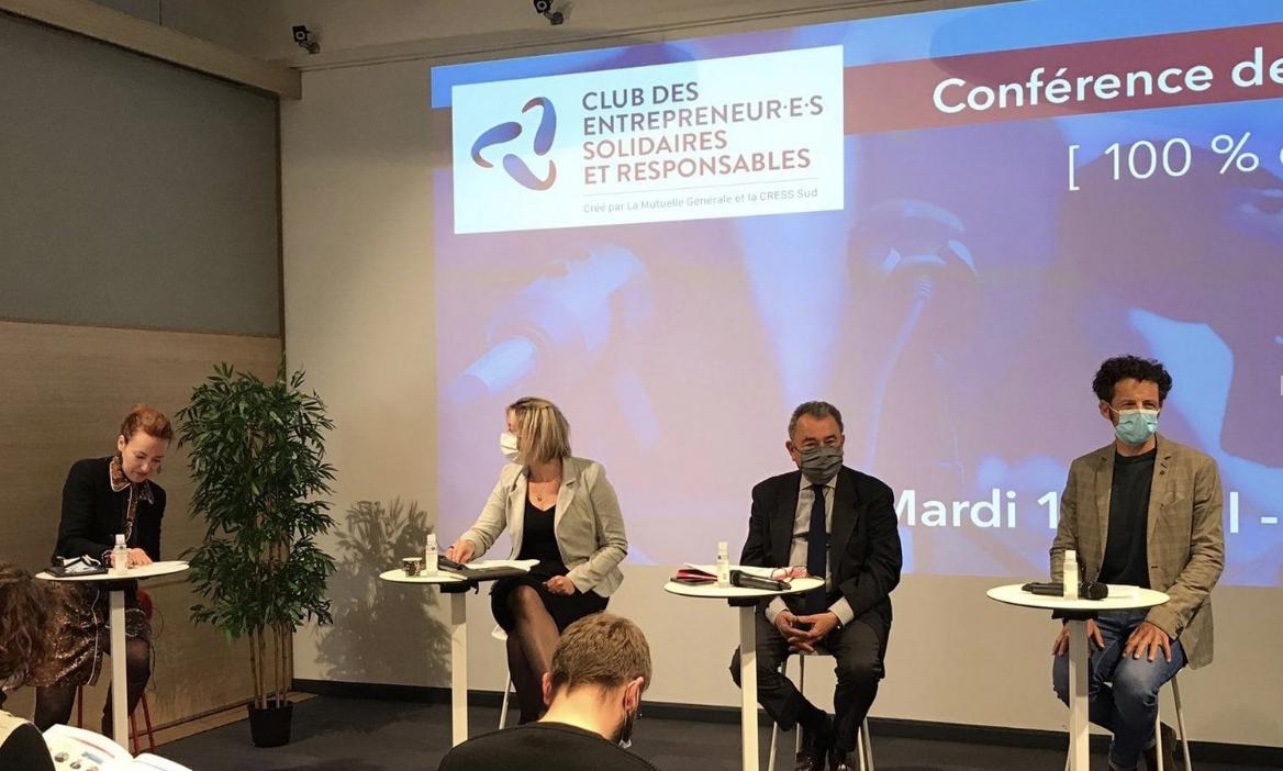 Le lancement du Club des Entrepreneur-e-s Solidaires et Responsables (photo : CRESS Paca) offre un lieu d'expertise et d'entraide