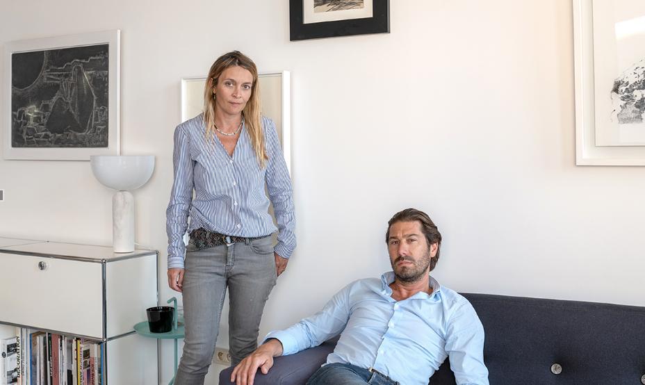 Pascale Bartoli et Thierry Lombardi, fondateurs de l'agence Architecture 54 à Marseille