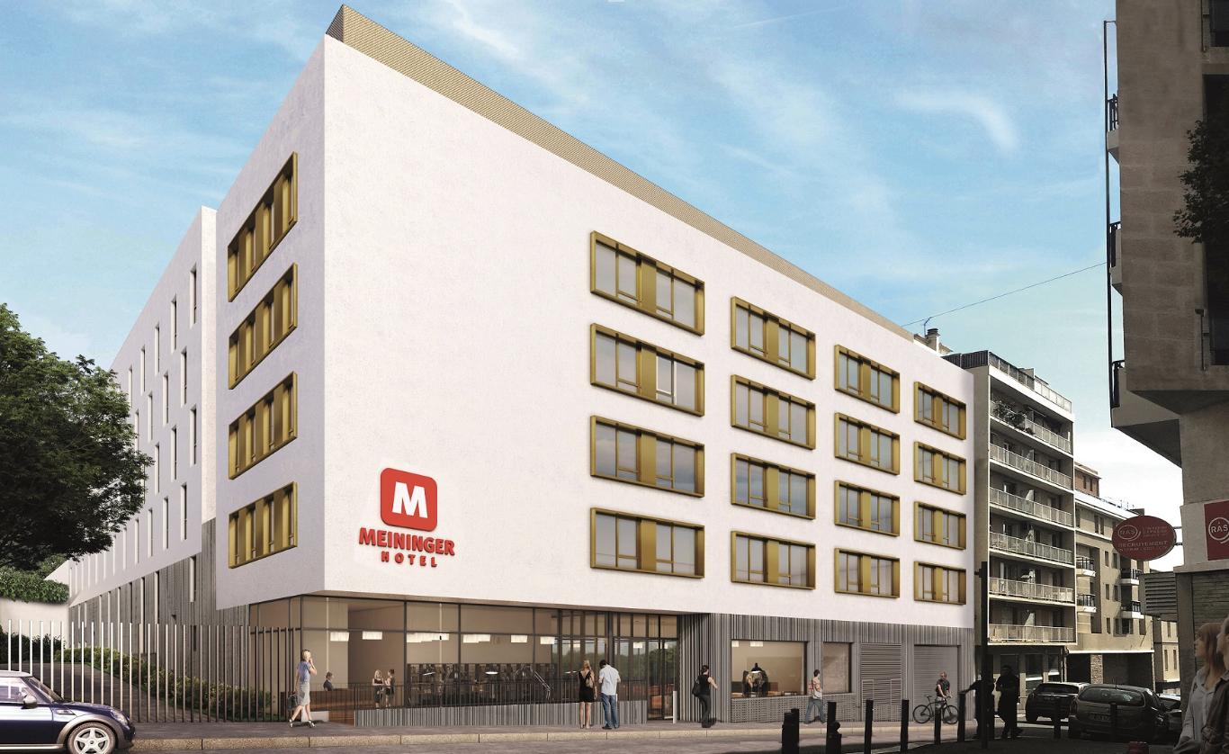 L'hôtel Meininger lèvera le rideau en 2022 rue de Forbin (2e) © DR