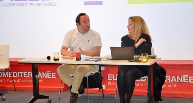 Stéphanie Ragu et Kevin Polizzi, respectivement présidente et vice-président de Medinsoft. ©NBC