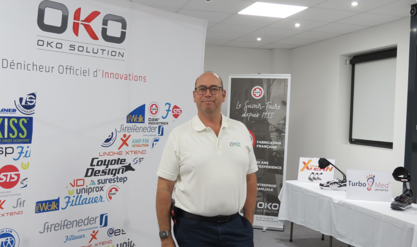 Avec les purificateurs d'air, Alexandre Okorokoff s'ouvre un marché bien plus vaste que sa clientèle traditionnelle d'orthoprothésistes (JC Barla).
